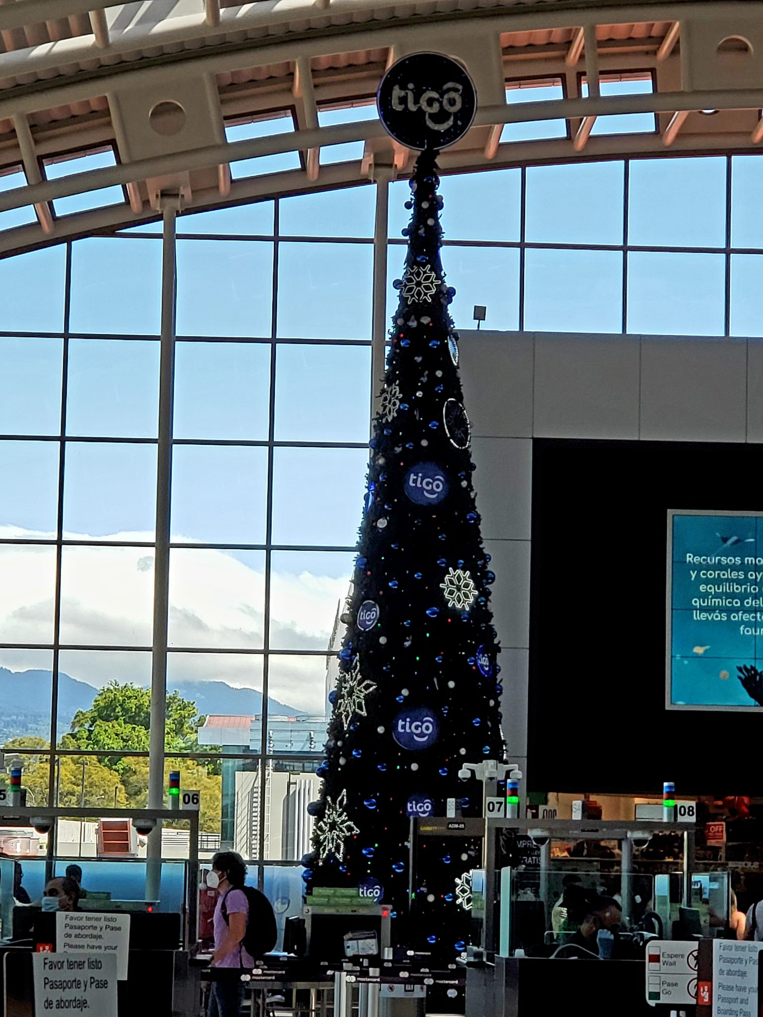 Costa Rican airport